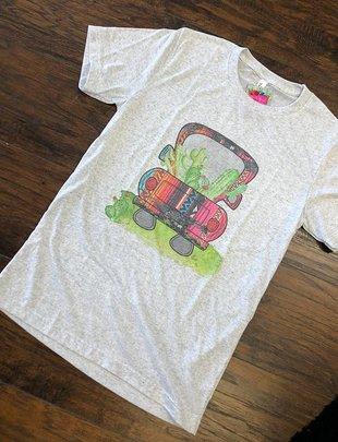 Cactus Serape Car Shirt