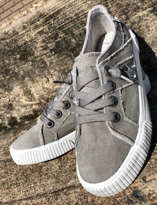 Wolf Gray Fruit  Tennis Shoes