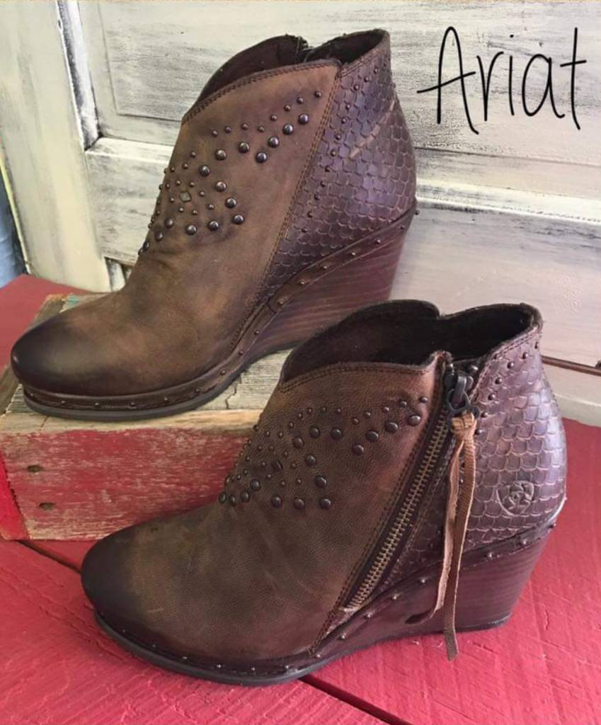 Ladies Ariat Stax Weathered Boot