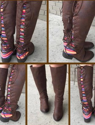 Serape Sass Boots