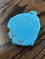 Turquoise Stone Slab Phone Accessory