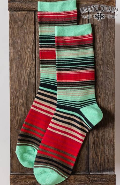 Serape Socks
