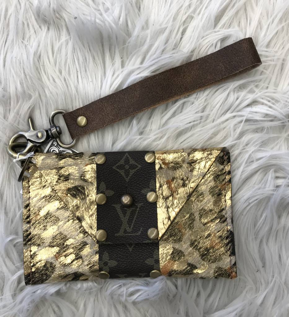 Keep It Gypsy Shelia Brown/Gold LV Bag