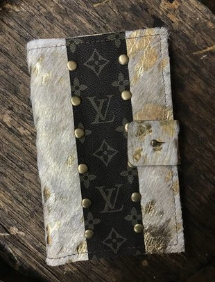 Keep It Gypsy Ashley White Cowhide LV Wallet