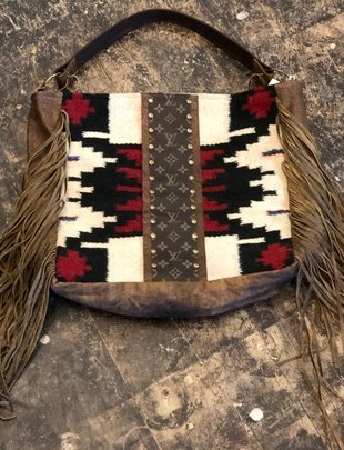 Keep It Gypsy Rosie LV Serape Blanket Handbag