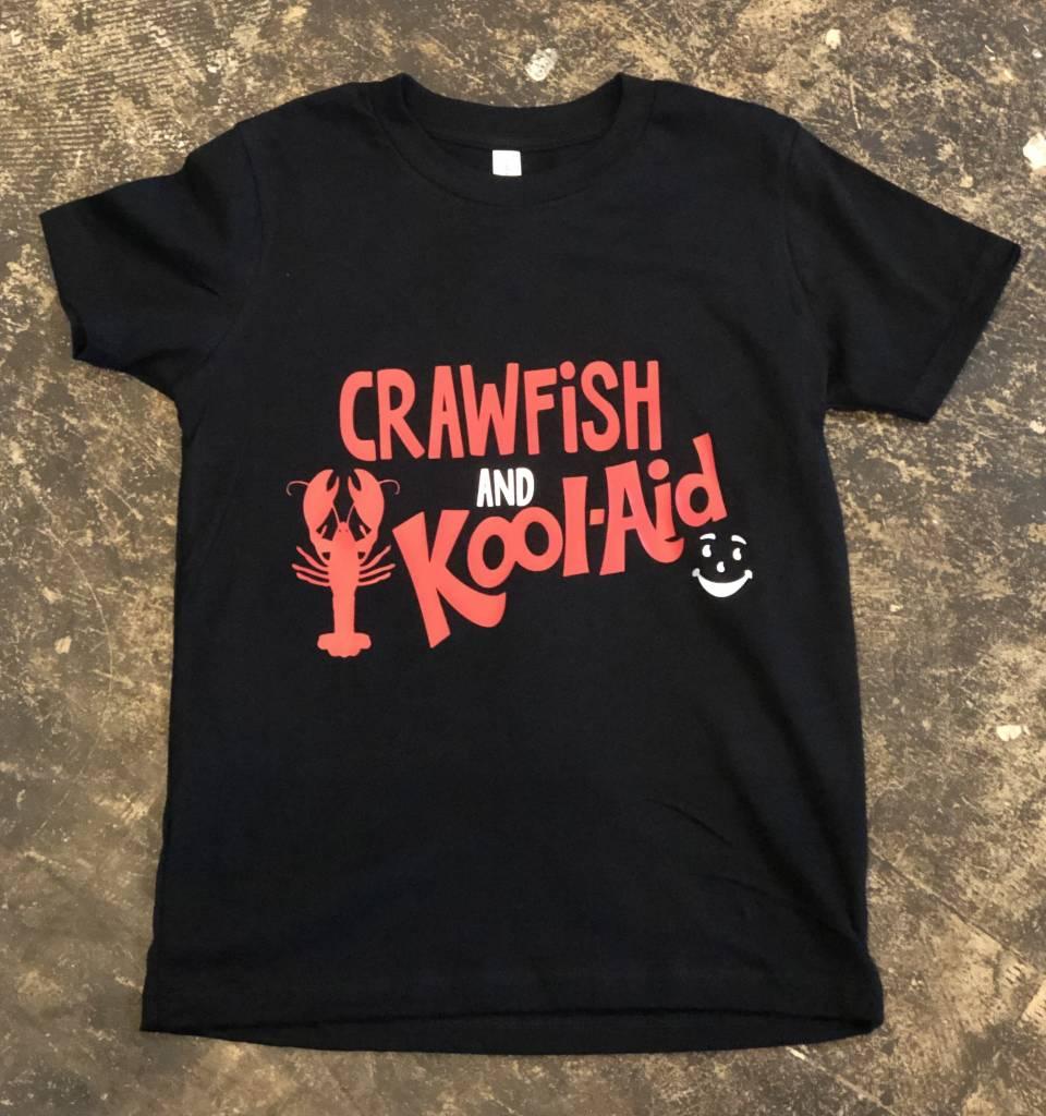 Back Road Beauties Kids Crawfish and Kool-Aid Tee