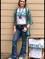 """Annette's Gina""""Texas n Turquoise"""" Tee"""