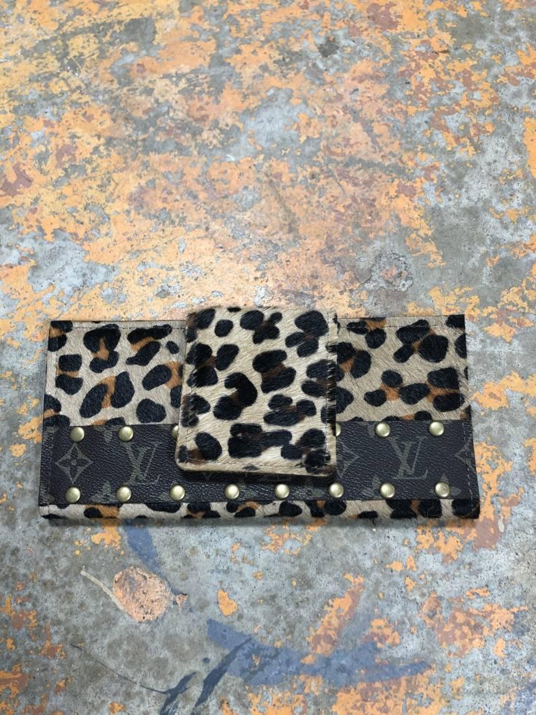 Keep It Gypsy Leopard Large LV Wallet