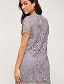 Lilac Lace Shift Dress