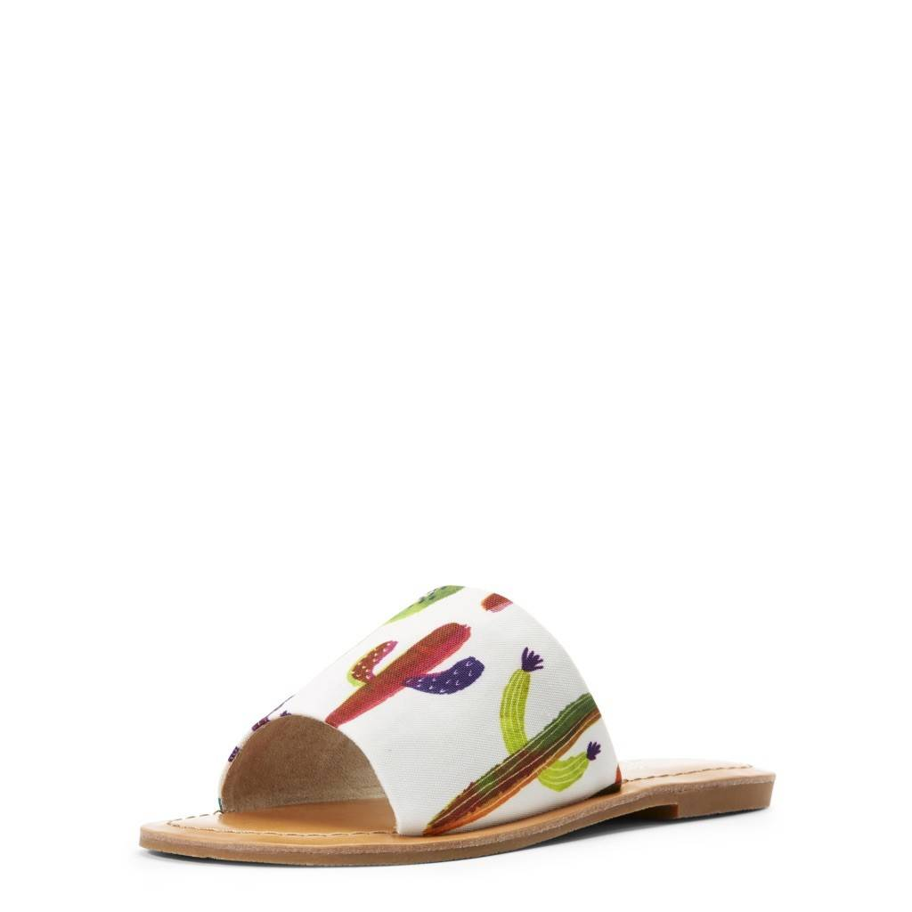 Ellie Cactus Slide On Sandal