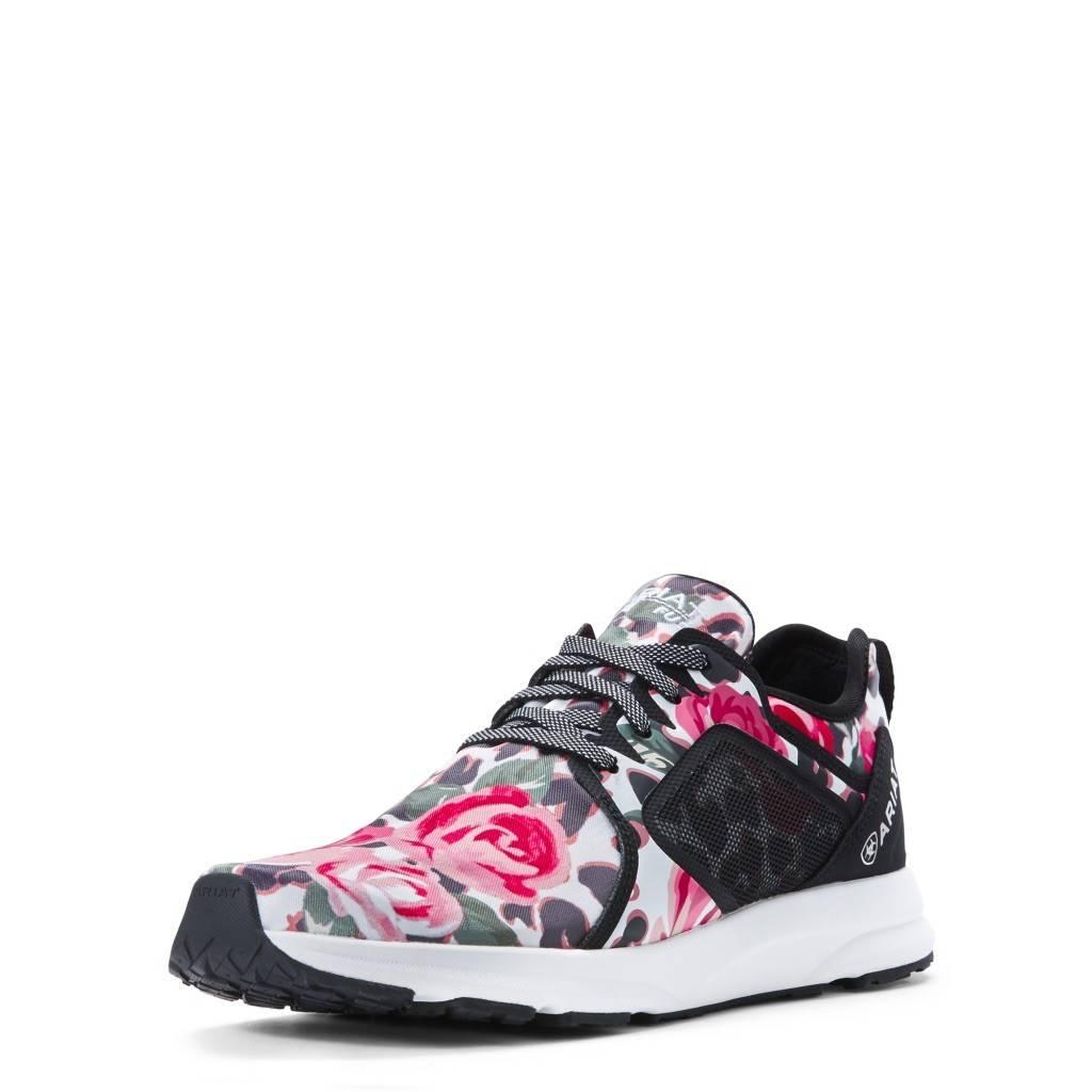 Leopard Pink Roses Fuse Tennie Shoe