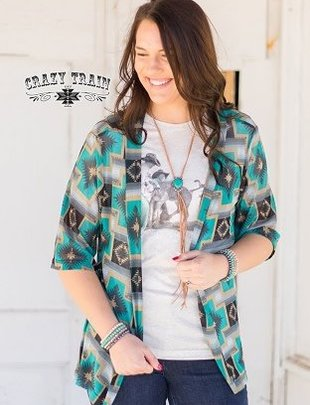 Crazy Train Cartwright Kimono