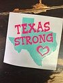 Back Road Beauties Texas Strong Car Vinyl Decal