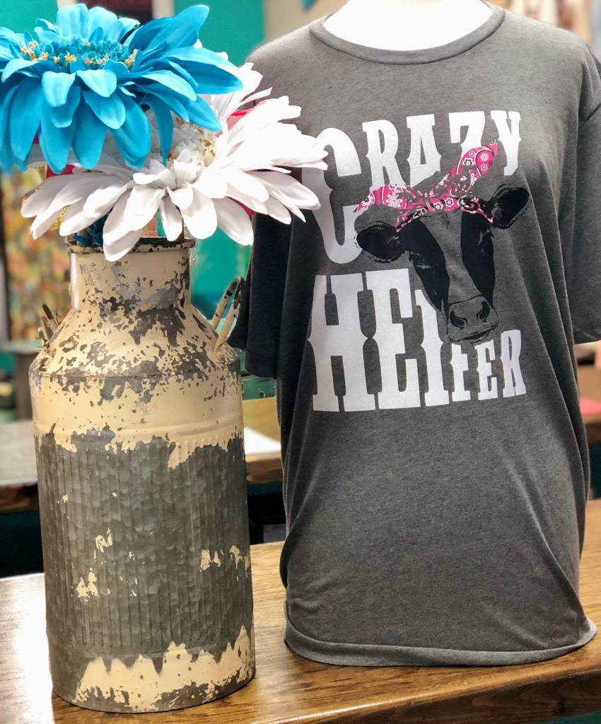 Back Road Beauties Crazy Heifer Tee