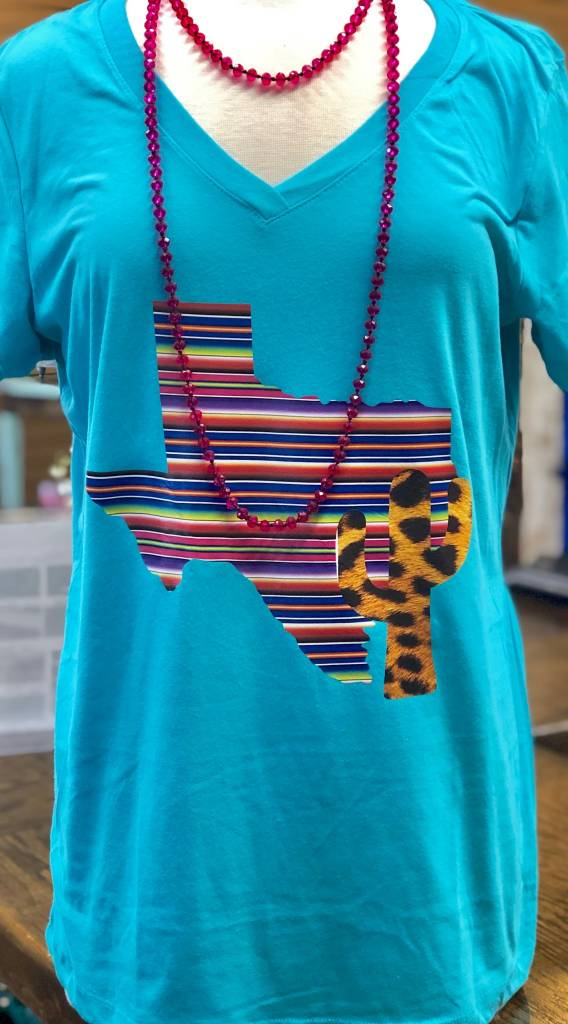 Back Road Beauties Southern Texas with a Cactus Style Tee