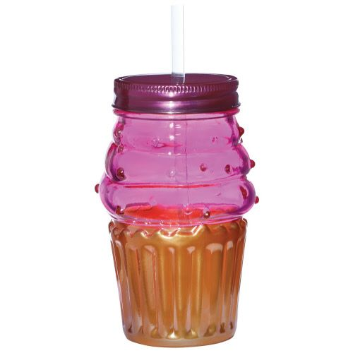 Pink & Gold Cupcake Cup