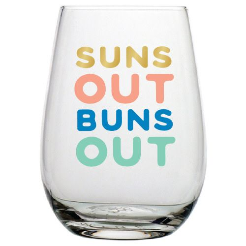 20OZ STEMLESS WINE SUNS OUT
