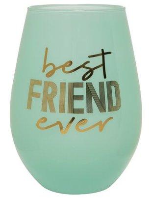 30OZ STEMLESS WINE BEST FRIEND EVER