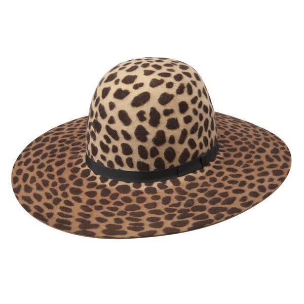 a165fc9cd1c Charlie 1 Horse Leopard Jezebel Felt Hat - Back Road Beauties Boutique