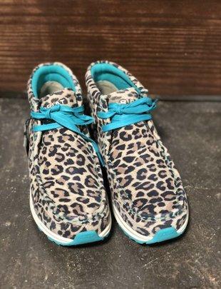 Ladies Leopard Spitfire Shoe