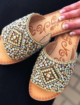 Brand Headquarters Susanna Multi Bead Sandal