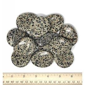 Dalmatian Jasper - Worry Stones (12 piece parcel)