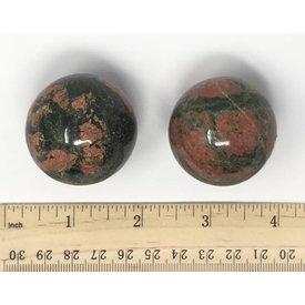 Unakite - 40mm Sphere