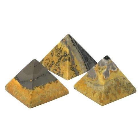 Bumble Bee Jasper - Mini Pyramid