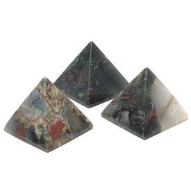Bloodstone - 5cm Pyramid