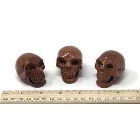 Goldstone - Skulls (2 inch)