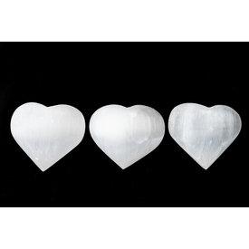 Selenite - Hearts (4-5 cm)