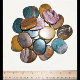 Ocean Jasper - Palm Stone Large (1 lb parcel)
