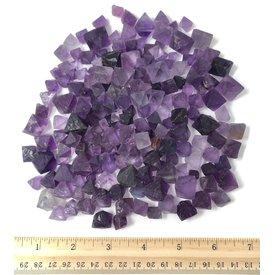 Fluorite Octahedrons - Purple (1 lb parcel)