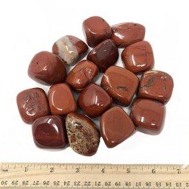 Red Jasper (some Brecciation) - Tumbled XL (1 kg parcel)