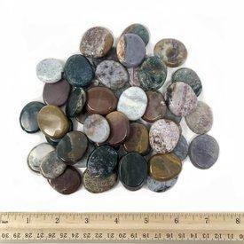 Ocean Jasper - Palm Stone Small (1lb parcel)