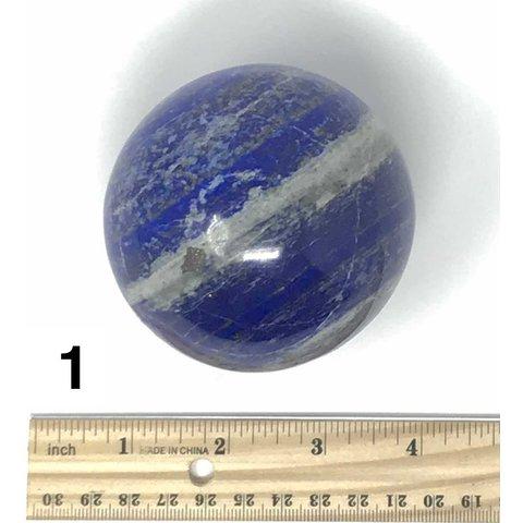 Lapis Sphere (e)1 - 1.6 lb