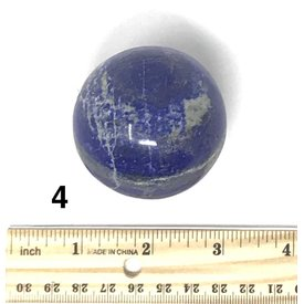 Lapis Sphere (e)4 - .53 lb
