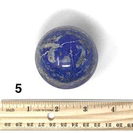 Lapis Sphere (e)5 - .58 lb