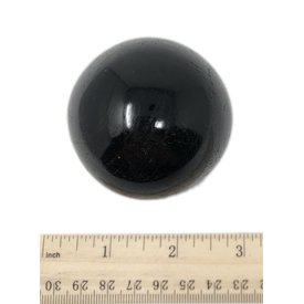 Black Tourmaline Sphere - (e)6