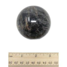 Black Moonstone Sphere - (e)2