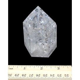 Crackle Quartz - Polished Point (e)2