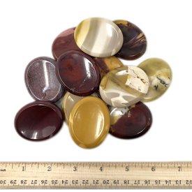 Mookaite Jasper - Worry Stone (12 piece parcel)