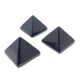 Blue Goldstone - Micro Pyramid