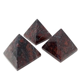 Brecciated Jasper Pyramid- 5cm