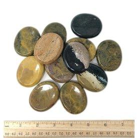 Ocean Jasper - Worry Stone (12 piece parcel)