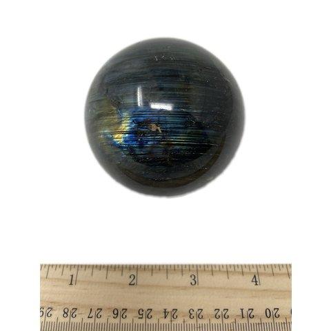 Labradorite Sphere - (e)4