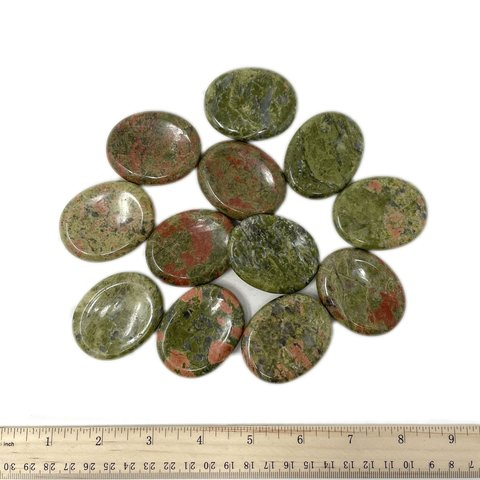 Unakite - Worry Stone (12 piece parcel)