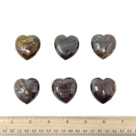 Tiger Iron - Hearts 35mm (6 piece parcel)