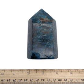 Blue Apatite - Polished Point (e)3