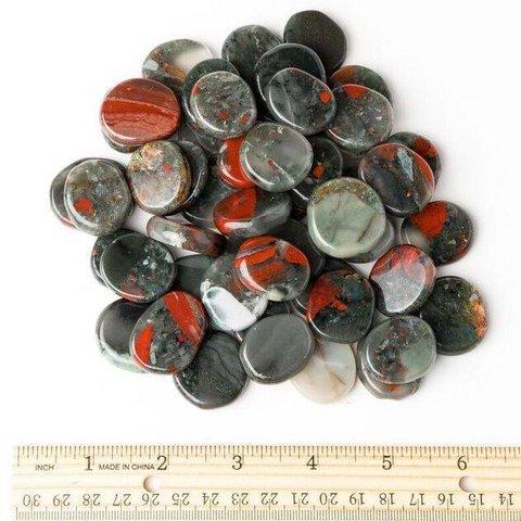 Bloodstone - Palm Stone Small (1 lb parcel)
